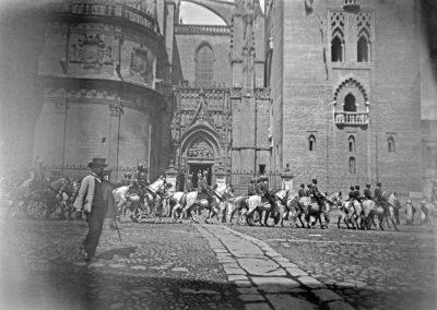 Desfile de tropas a caballo
